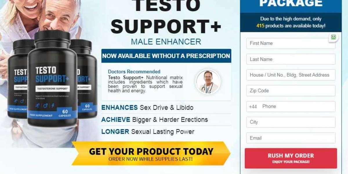 Testo Support + Male Enhancement: